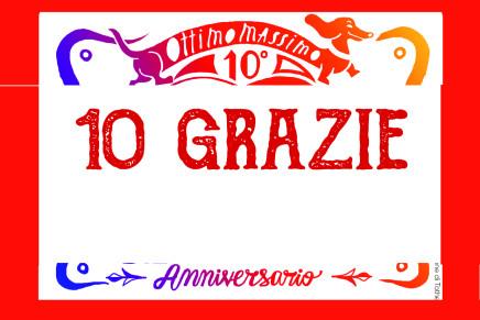 10 grazie