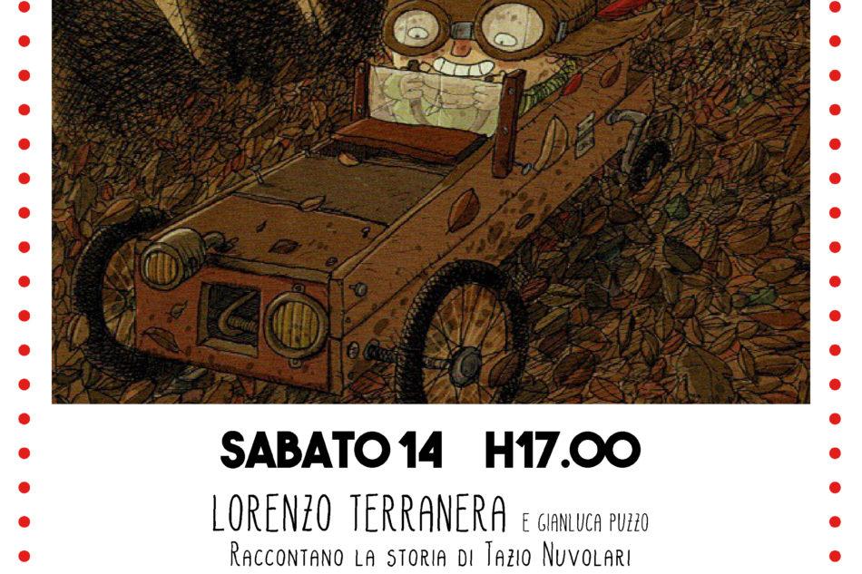La storia di Tazio Nuvolari, il nuovo fumetto di Lorenzo Terranera